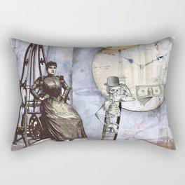 Servants of money Rectangular Pillow