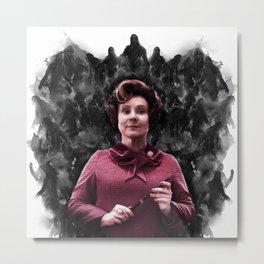 Prof Dolores Umbridge & Dementors Metal Print