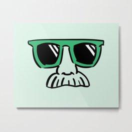 Too Cool (green) Metal Print