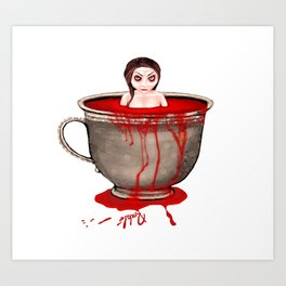 Cup of Blood Art Print
