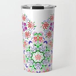 Polish Pattern Travel Mug