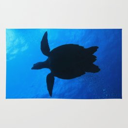 Hawks Bill Sea Turtle Rug
