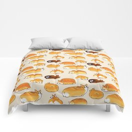 Bread Corgis Comforters