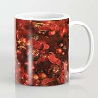 holiday Mugs featuring holiday by littlesilversparks