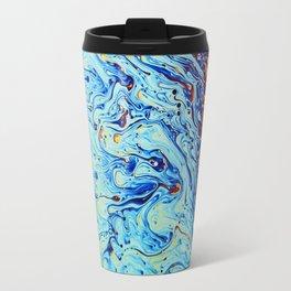 Psychedelic Abstract Travel Mug