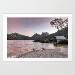 Evening at Dove Lake Art Print