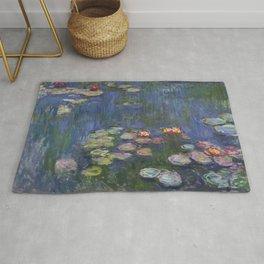 Water Lilies - Claude Monet Rug