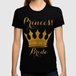 Princess Bride - Gold Faux Foil Crown T-shirt