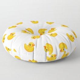Rubber duck toy Floor Pillow