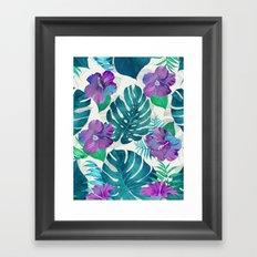 My Tropical Garden 20 Framed Art Print
