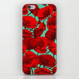 Poppies I iPhone Skin