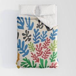 Leaf Cutouts by Henri Matisse (1953) Duvet Cover