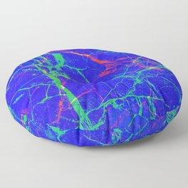 Life In Your Veins Floor Pillow