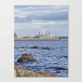 Nothern Fleet Canvas Print