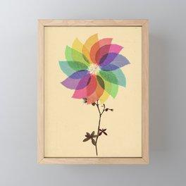 The windmill in my mind Framed Mini Art Print