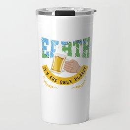 Save The Earth Travel Mug