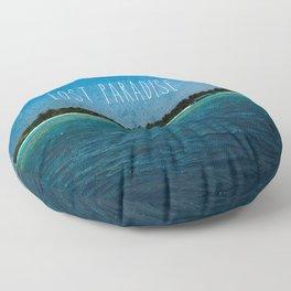 Lost Paradise Floor Pillow