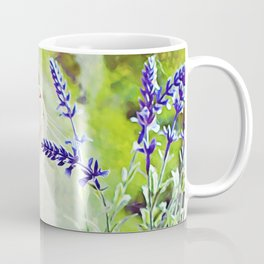 Conferring With the Flowers Coffee Mug