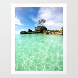Boracay Bliss Art Print
