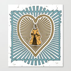 Queen of hearts not heads Canvas Print