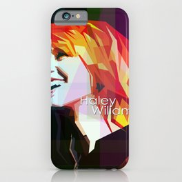 Girl In Rock iPhone Case