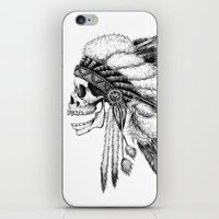 native iPhone & iPod Skins featuring Native American by Motohiro NEZU