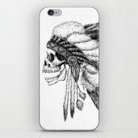 vans iPhone & iPod Skins featuring Native American by Motohiro NEZU