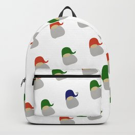 Gnome pattern - tribe of tomtes Backpack