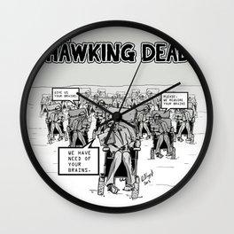 Stephen Hawking dead Wall Clock