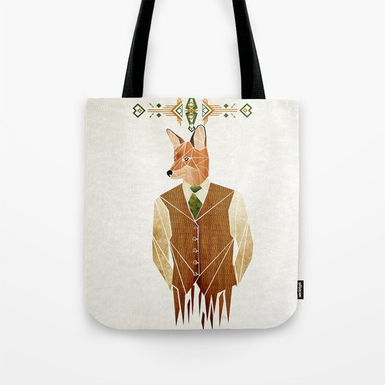mister fox Tote Bag