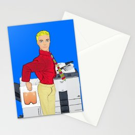 Fun At The Photocopier! Stationery Cards