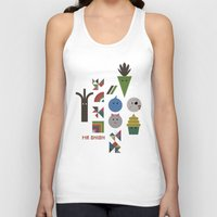 vegetable Tank Tops featuring Vegetable Colours by Mr Onion
