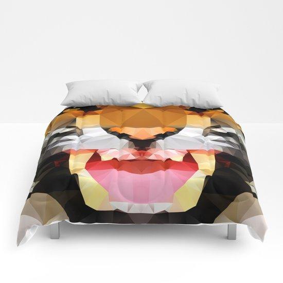 Tiger - Geo Comforters