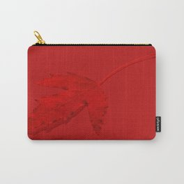 Maple Leaf Red Carry-All Pouch