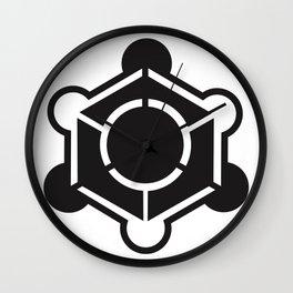 Crop circle design Wall Clock