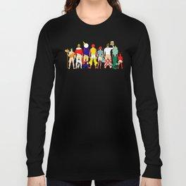 Fast Food Butts Mascots Long Sleeve T-shirt