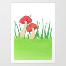 Mushy Stuff Art Print