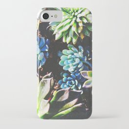 So many succulents, so little time. iPhone Case