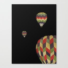 Up, Up, and Away at Night! Canvas Print