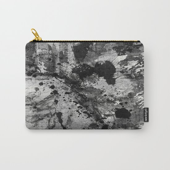 Lost In Contrast Carry-All Pouch