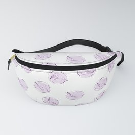 Pilates poses pattern Fanny Pack