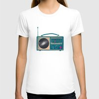 radio T-shirts featuring Space Radio by Victor Vercesi