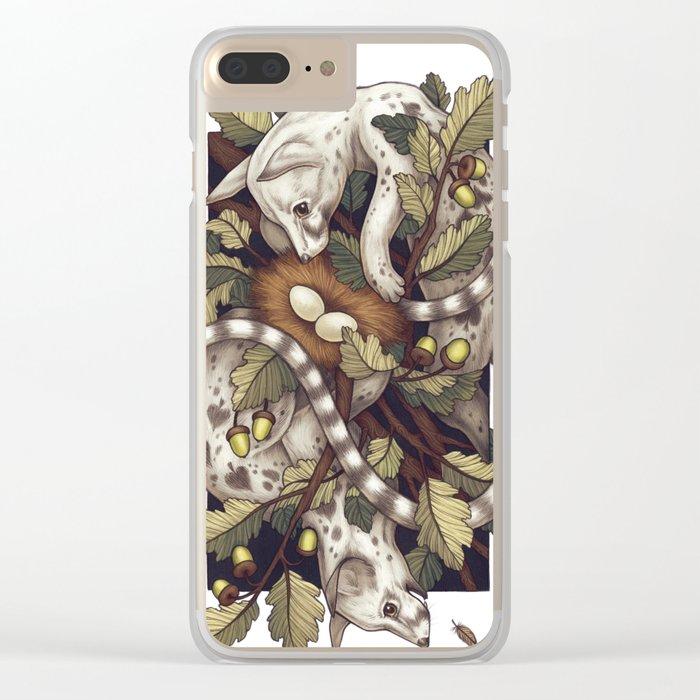 Spades Clear iPhone Case