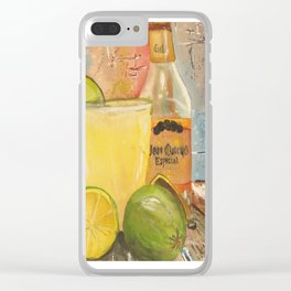 Margaritaville Clear iPhone Case