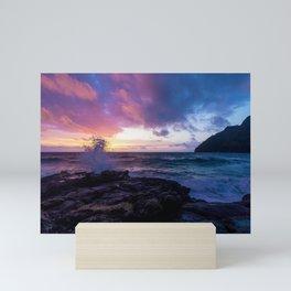Makapu'u Beach, Hawaii Mini Art Print