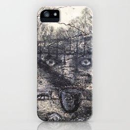 Hunter of a foxes iPhone Case