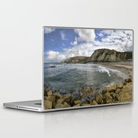 agnes Laptop & iPad Skins featuring St Agnes by Mark Nelson