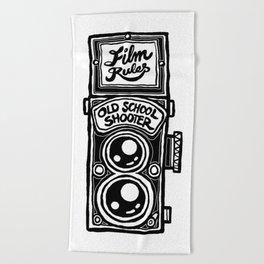 Analog Film Camera Medium Format Photography Shooter Beach Towel