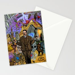 Charles Fort - Fortean Stationery Cards