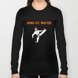 KUNG-FU MASTER PIXEL Long Sleeve T-shirt